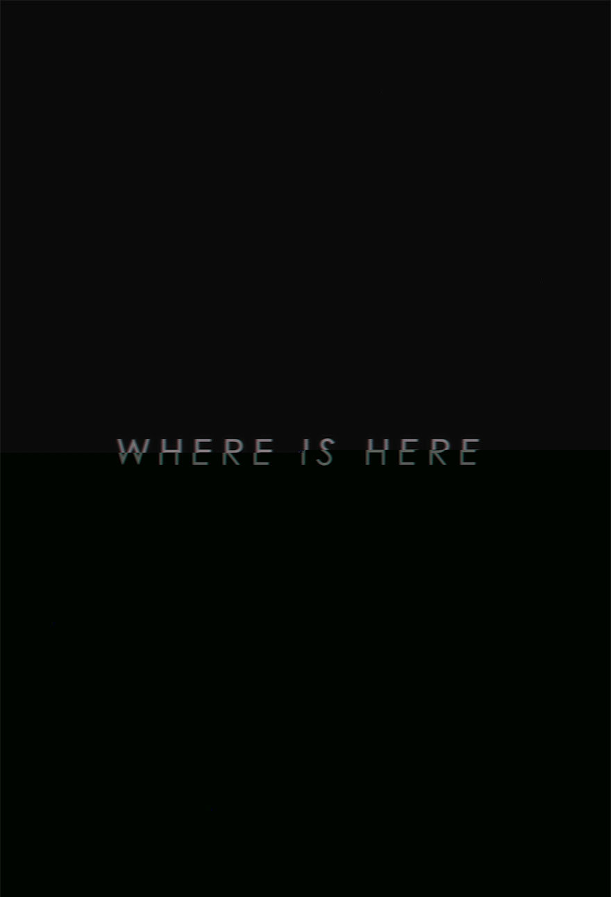 Where is Here Moving Projection - Kirsten Whitney